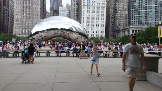 One of Chicago's cool public artworks