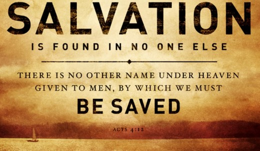 Salvation in Only One!!