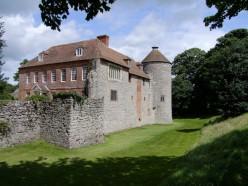 Westenhanger Castle in Kent