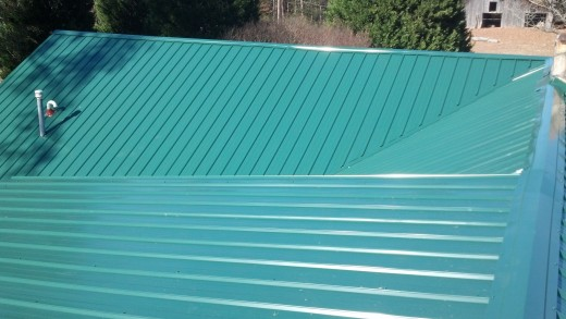Green Metal Roof