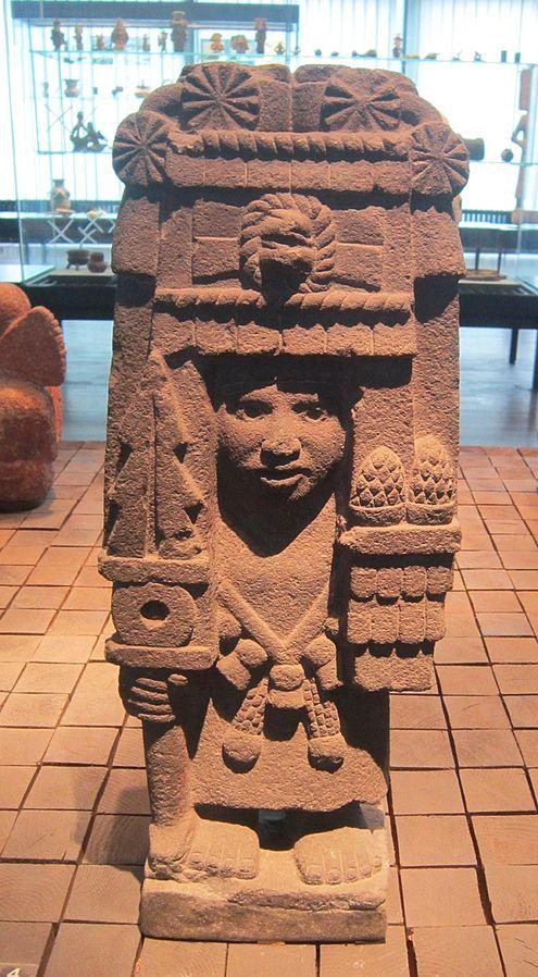 Corn Goddess Chicomecoatl By Interfare CC BY-SA 4.0