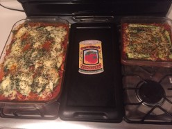 Lasagna made with Zucchini