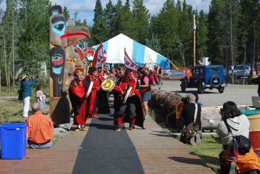 Tlingit today in the Canadian Yukon. Also found in Alaska.