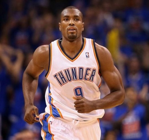Serge Ibaka's scoring chances may be going way, way up.