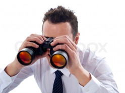 If you see a guy or girl using binoculars around your home or workplace, talk to the authorities