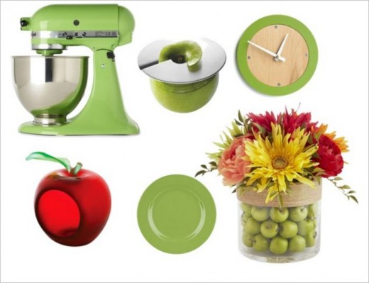 Apples In Decor And Appliances