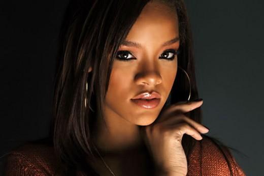 Rihanna pop star and actor.