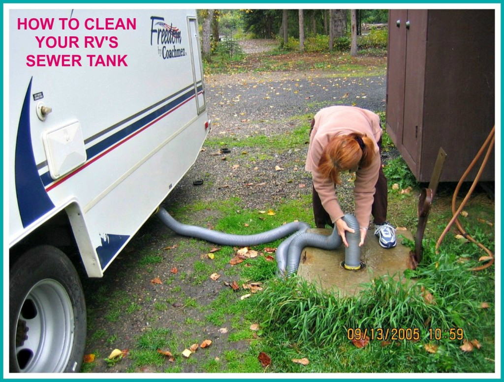 How To Dump Clean And Maintain Your Rv S Blackwater Tank