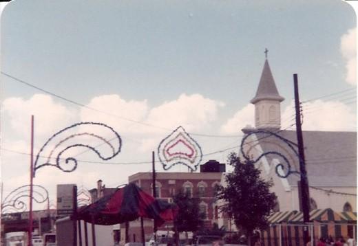 St. Rosalia Catholic Church in Brooklyn.