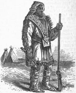 A Nunnehi warrior
