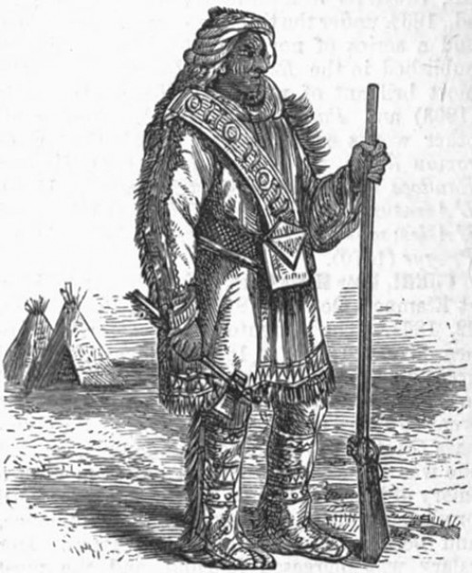 A Nunnehi warrior
