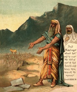Why did the Isrealites get stone tablets TWICE; while Christians didn't even receive an oral OR written version of The Sinner's Prayer ONCE if it was so important?