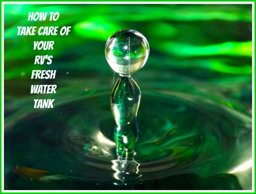 Learn how to keep your fresh water tanks clean so that your water supply does not become contaminated.