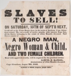 The Business Of Slave Owners And The (((Echos))) Of Slavery.