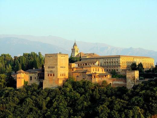 Vista de la Alhambra by bernjan CC BY-SA 2.0