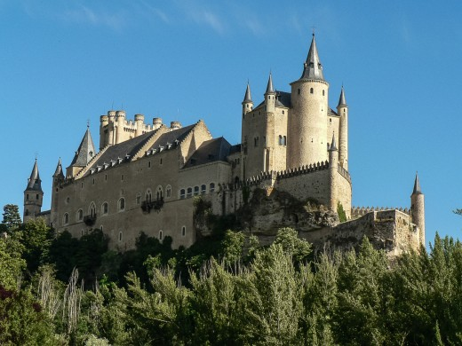 Alcazar of Segovia Castle By Tural Jones CC BY-SA 2.0
