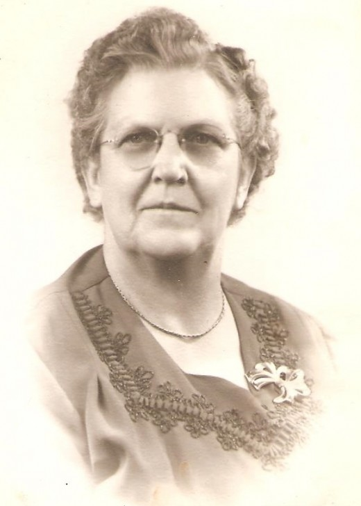 My paternal grandmother Sarah (Sadie) Madison.