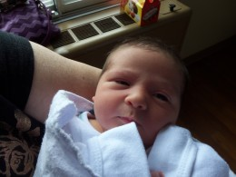 My newest grandson, Kaden who inspired me to write this poem.