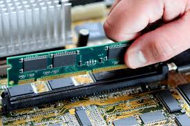 Installing RAM to its appropriate RAM SLOT.