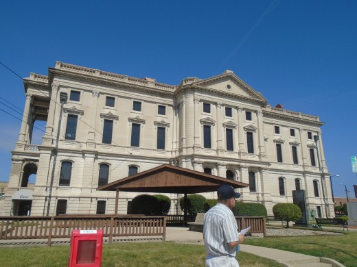 The Marion Indiana Courthouse