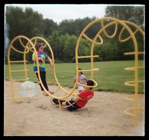 Free play breaks allow children to interact socially while lessening the stress of daily learning.