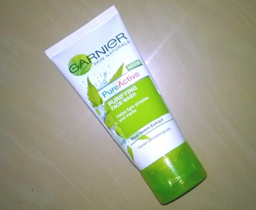 Garnier Skin Naturals Neem Pure Active Purifying Face Wash