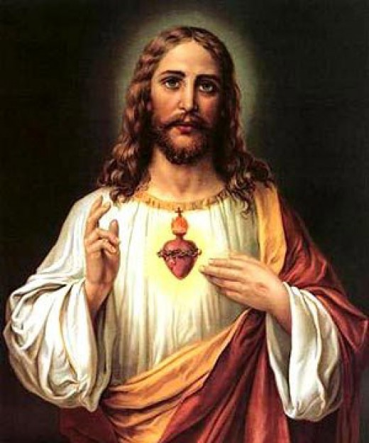 'God the Son,' image of an antichrist.