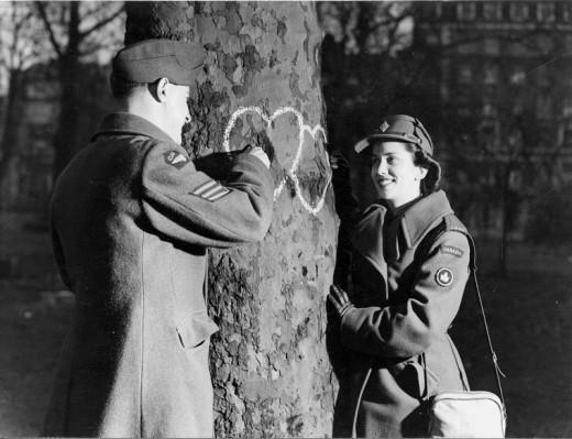 CWAC Valentines Day 1944