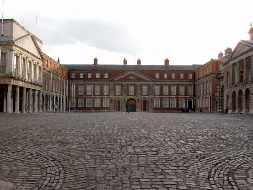Dublin Castle By Jtidirl Public Domain