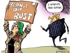 Bernie or Bust Supporters Are Worse Than Trump Supporters