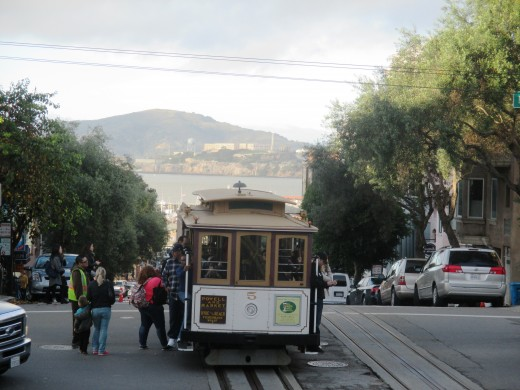 Ride the cable car