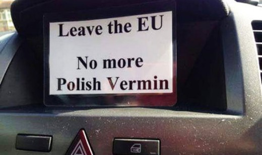Brexit Xenophobia in action