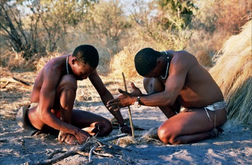 Bushmen, !Kung tribe