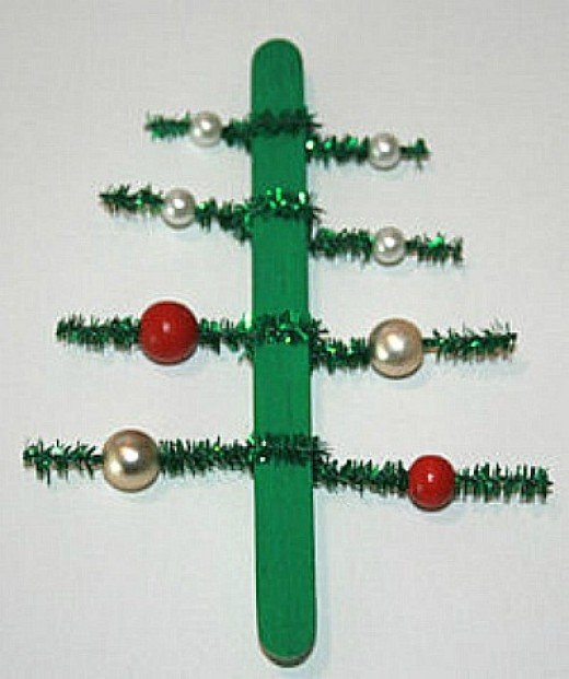 Primary Christmas Craft Lolly Sticks