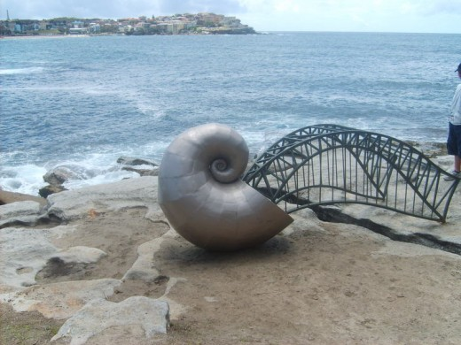 The mollusc that ate the harbour bridge by Dan Stewart Moore.