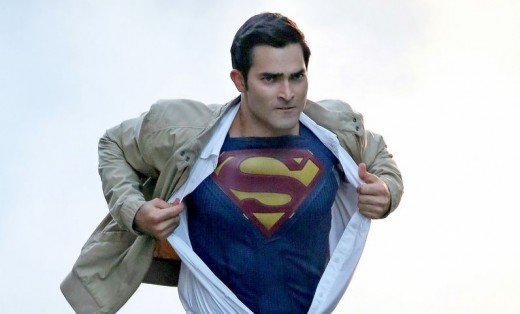 Tyler Hoechlin as Superman in Supergirl