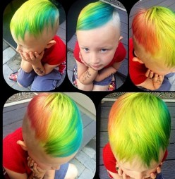 Coloring a Young Child's Hair Yay or Nay?
