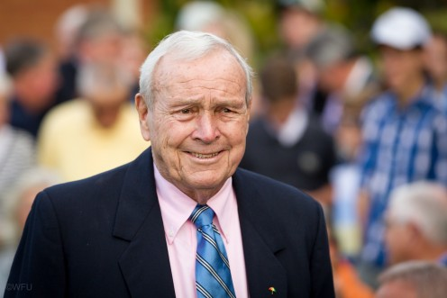 In my opinion, Arnold Palmer is THE greatest golfer of all-time
