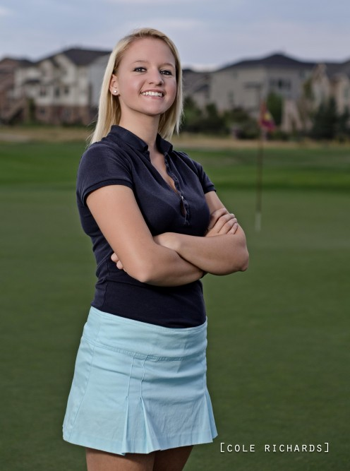 This is Faith. She is an up and coming golfer originating from California
