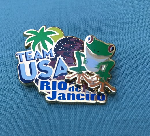 Rio 2016 Team USA pin