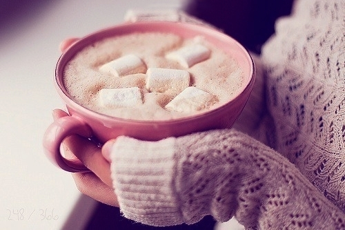 You know the benefits of milk to your body so why not do you wanna a cup of hot chocolate ?