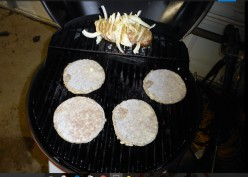 Minnesota Cooking: Grilling a Potato and Pork Patties