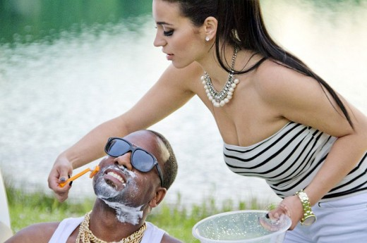 Exclusive Photo and Video of Kim Kardashian Shaving Kanye see link below to watch Video