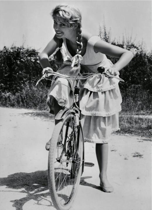 Brigette Bardot circa 1950