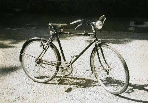 English bicycle  made in 1948