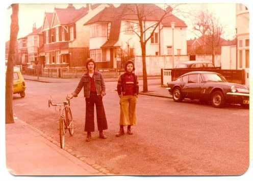 Boots, boys, bikes in 1976