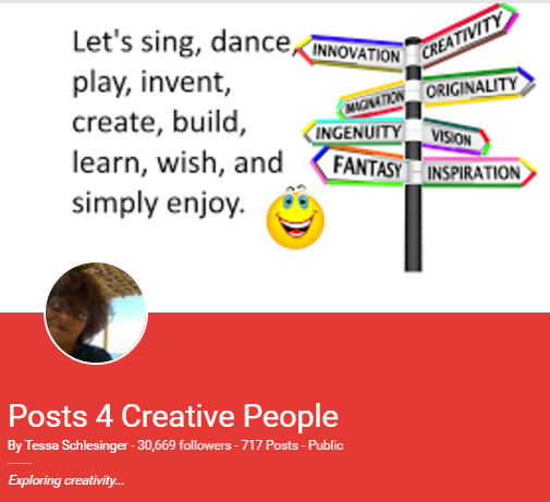 My posts for creative people had lots of hits but few comments and little interaction.