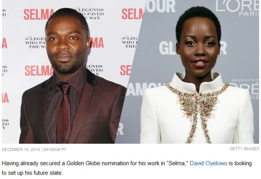 David Oyelowo and Lupita Nyong'O will play in the film Americanah