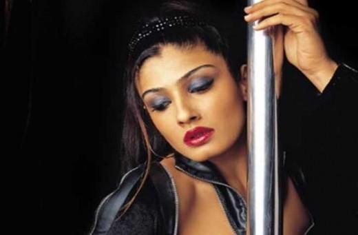 Indian actress Raveena Tandon