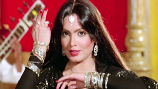 The late Parveen Babi